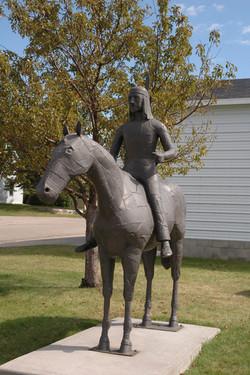 Indian & Pony