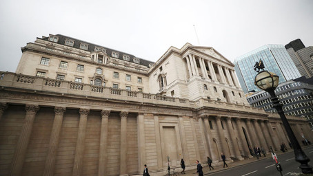 Bank of England Increases QE Program; Holds Key Rate at 0.1%