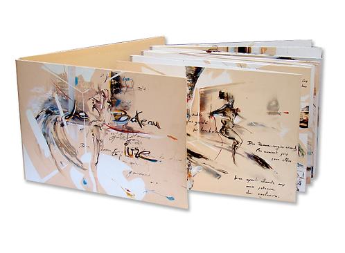arthur rimbaud, bateau ivre, livre unique, benoit lemoine peintre, livre d'artiste,