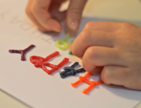 Kinesthetic and Tactile Spelling Lessons Make Words Memorable