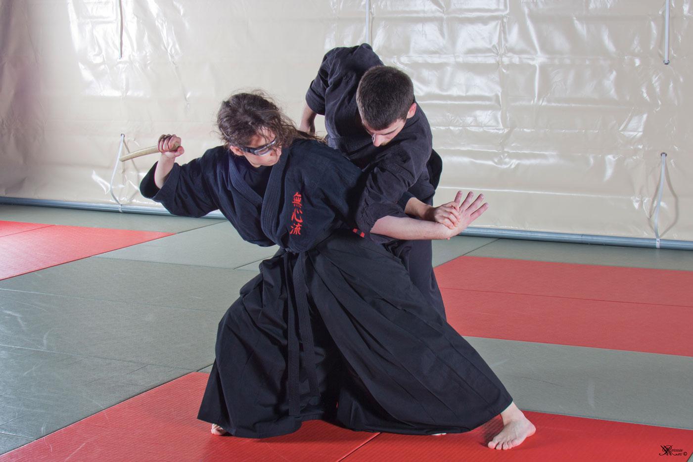 Mushin Ryu Ju Jutsu - Shiho nage