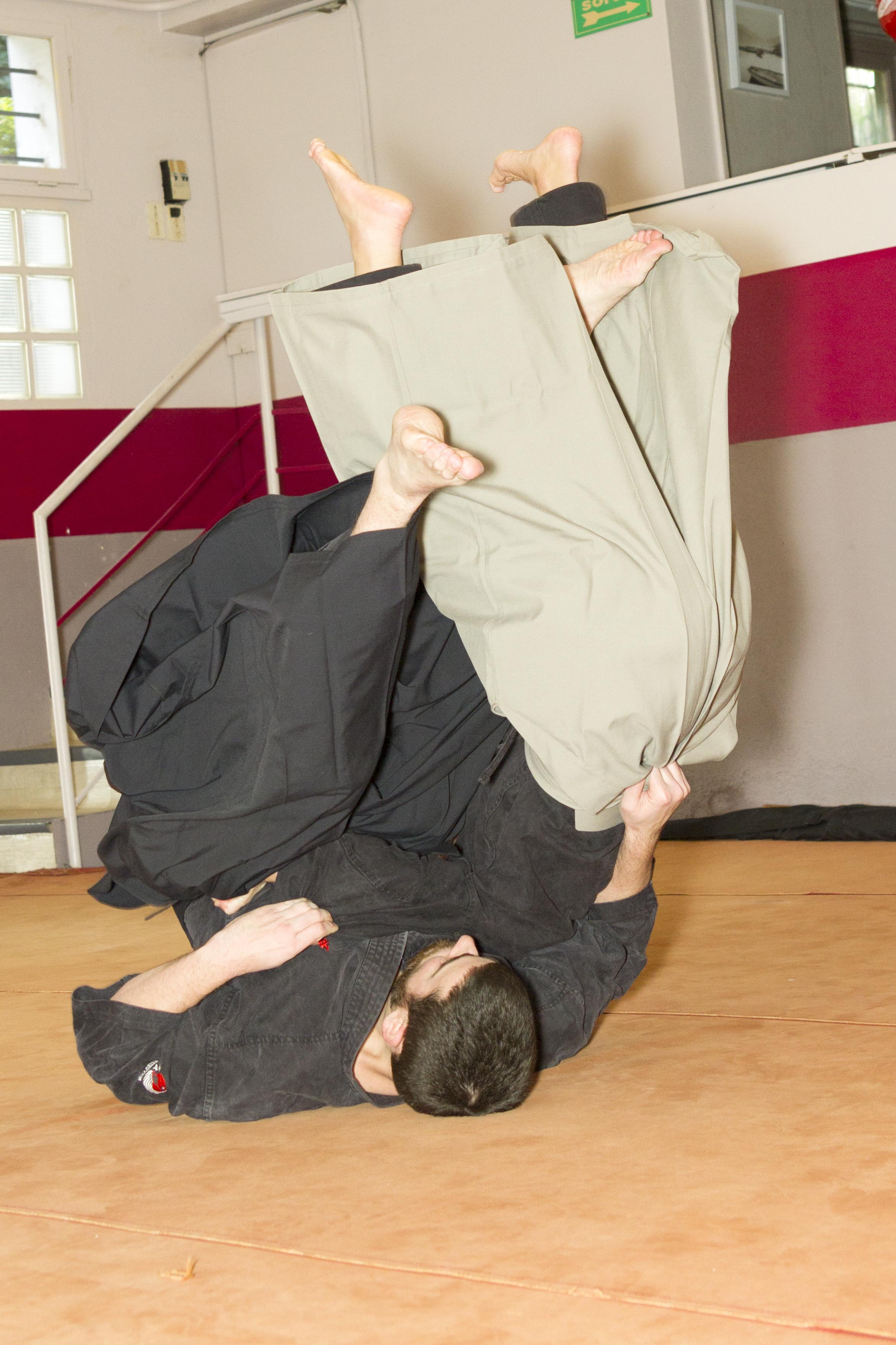 Mushin Ryu Ju Jutsu - Sumi gaeshi
