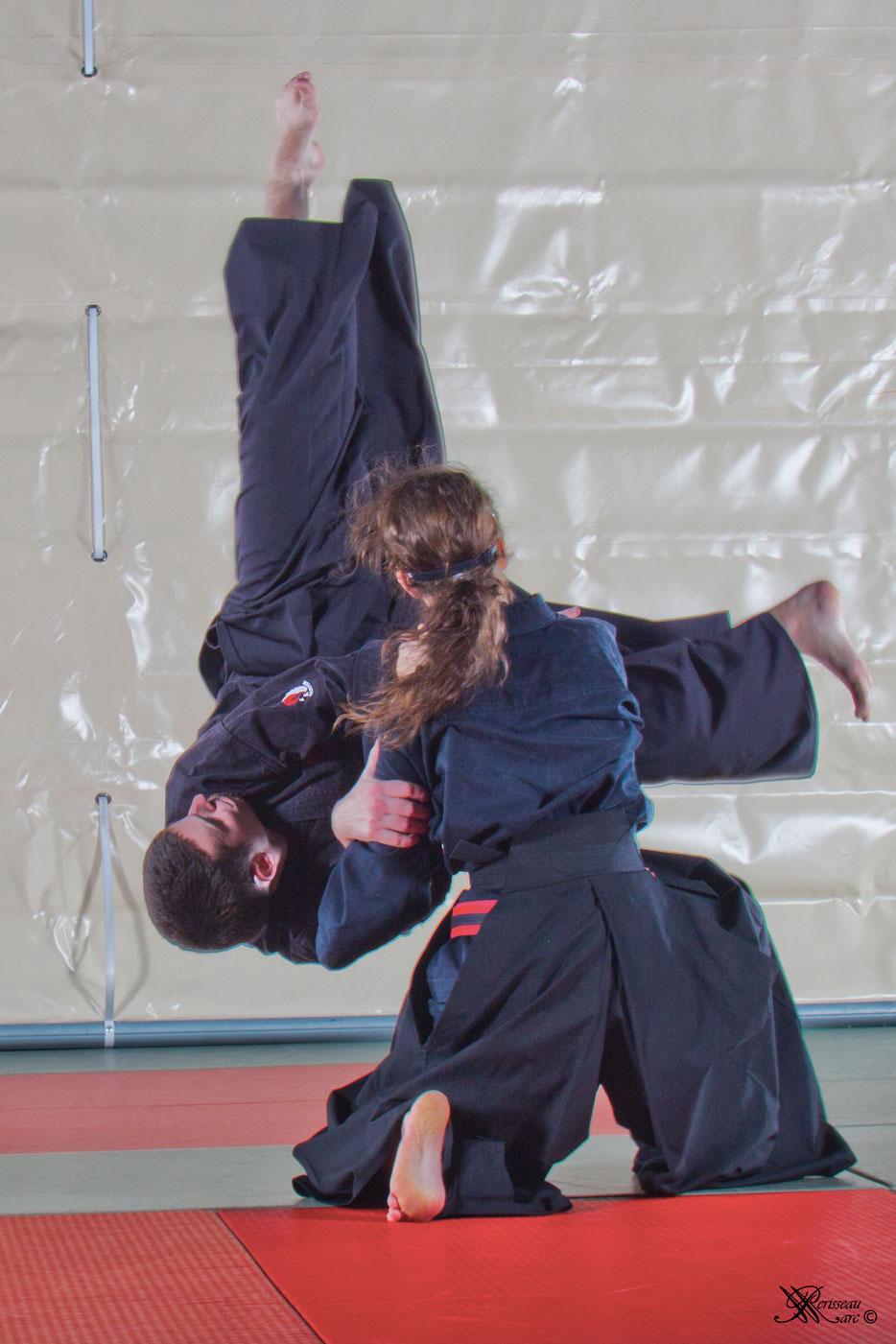Mushin Ryu Ju Jutsu - Uki otoshi