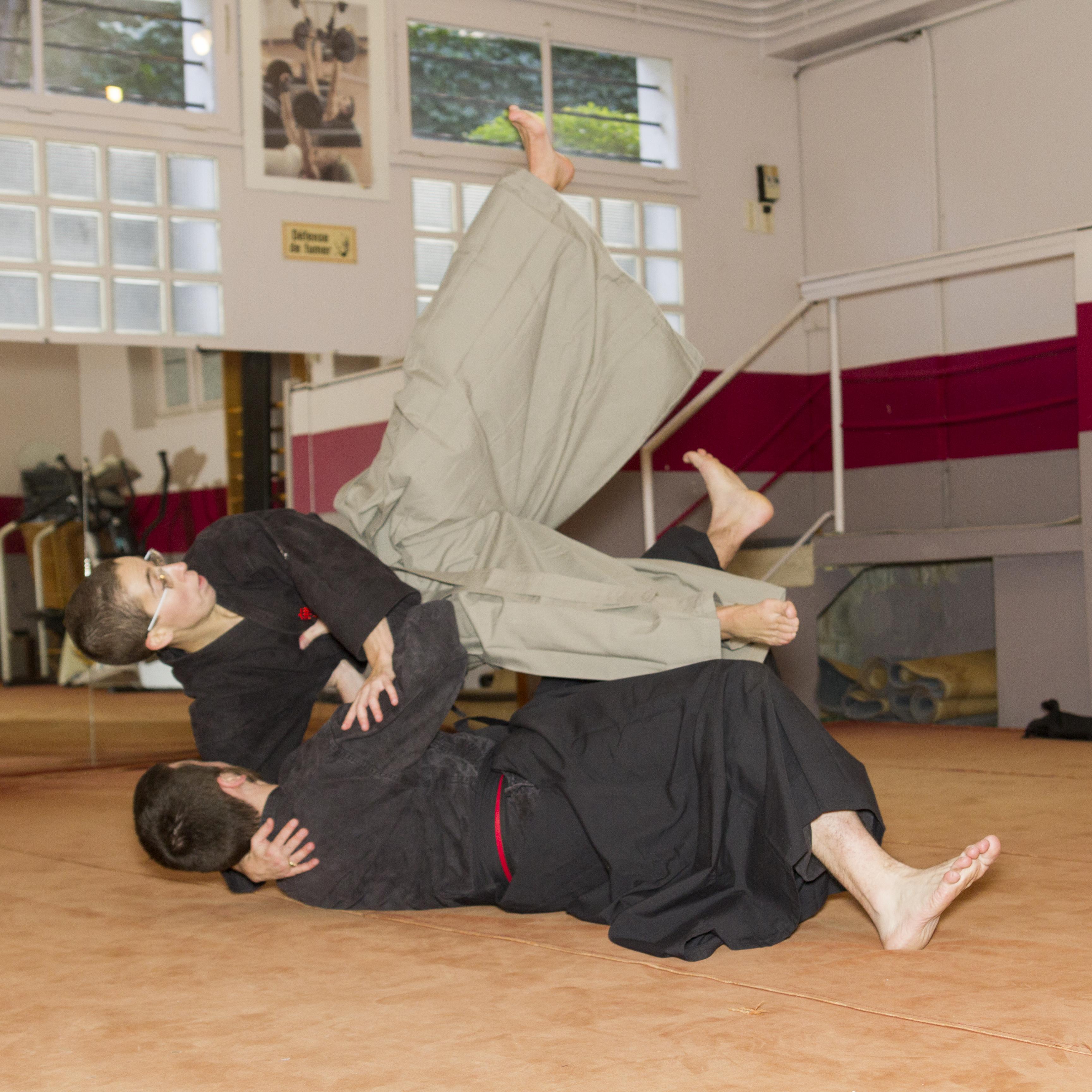 Mushin Ryu Ju Jutsu - Yoko guruma