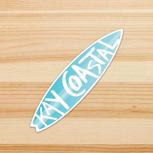 KAY COASTAL Sticker