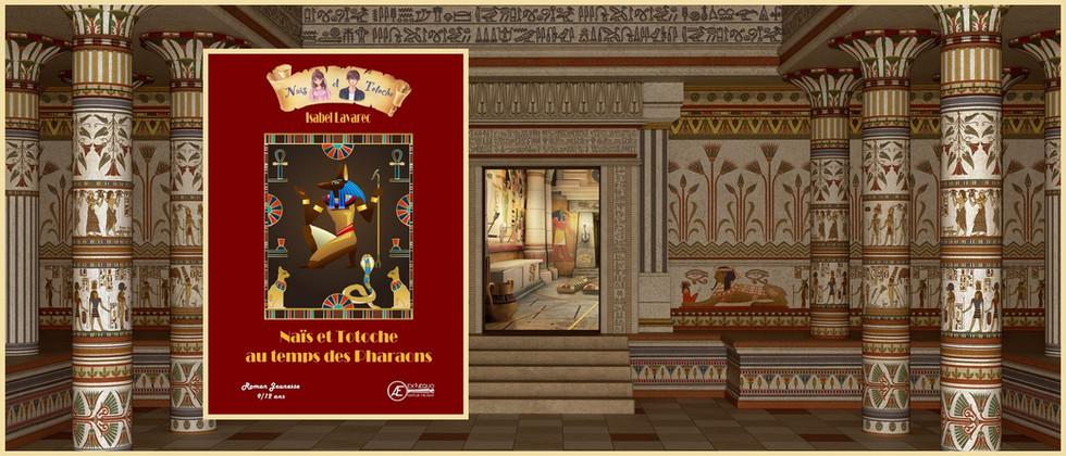 Naïs et Totoche au temps des Pharaons
