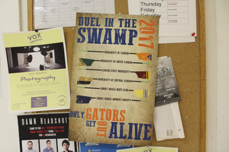 Dual in the Swamp Poster