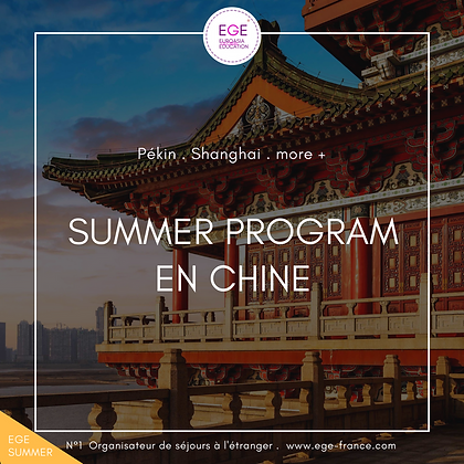 Summer Program à Pékin | Culture & Chinois | STANDARD