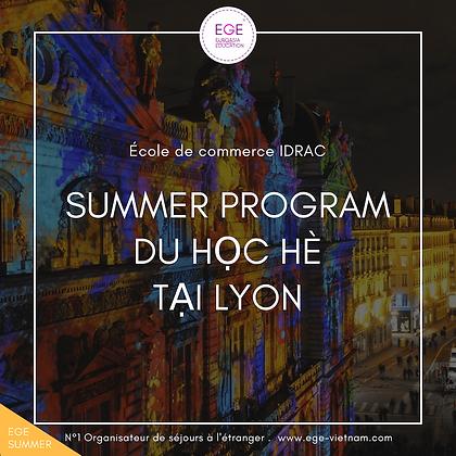Du học hè tại Lyon   Business   Đại học IDRAC   STANDARD