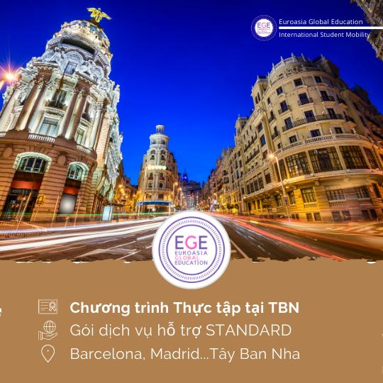 Thực tập chuyên môn tại Tây Ban Nha | STANDARD