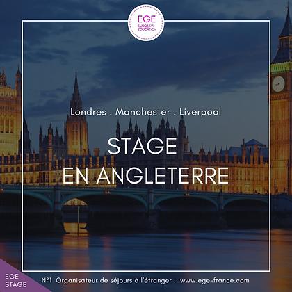 Stage en Angleterre | Internship in England | SMART