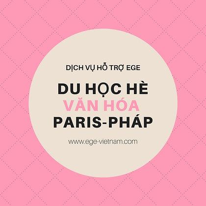 Du học hè tại Paris | Văn hóa-Ngôn ngữ | Sorbonne 7 | STANDARD