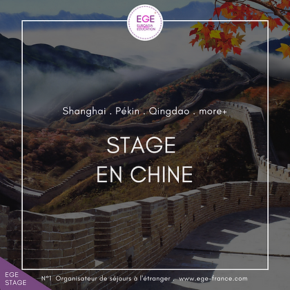 Stage en Chine | Internship in China | SMART