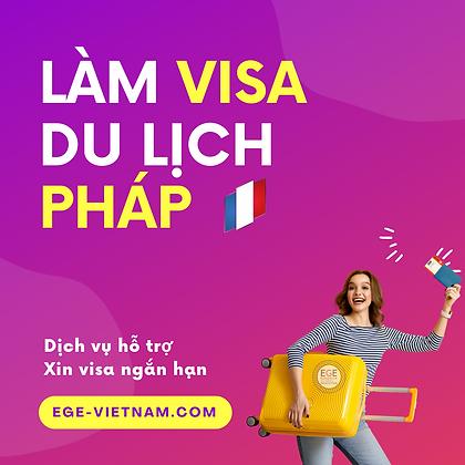 Visa du lịch Pháp | Ngắn hạn | SERVICE