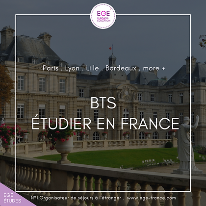 Étudier BTS en France | Study BTS in france | STANDARD