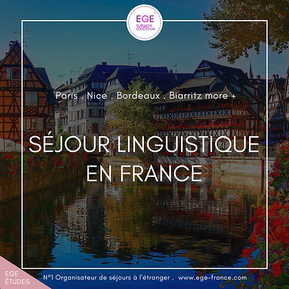 Séjour linguistique en France | Language Travel in France | COMFORT