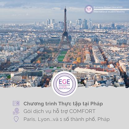 Thực tập chuyên môn tại Pháp | COMFORT