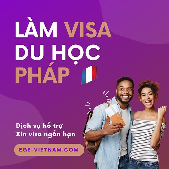 Visa du học Pháp | Ngắn hạn | SERVICE