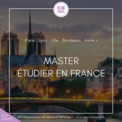 Étudier Masters en France | Study master in france | SMART