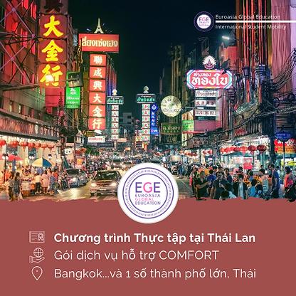 Thực tập chuyên môn tại Thái Lan | COMFORT