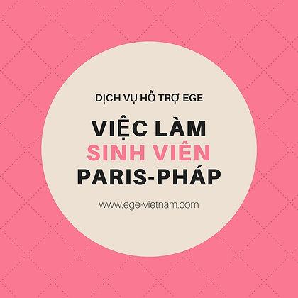 Việc làm tại Pháp | Việc làm sinh viên tại Paris | STANDARD