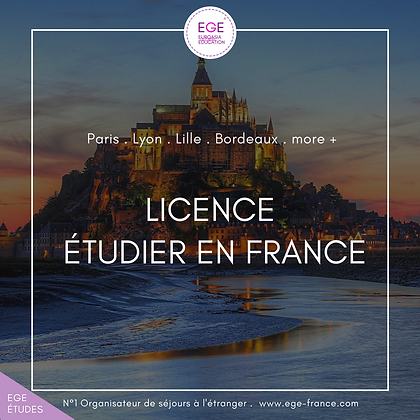 Étudier Bachelors en France | Study bachelors in France | COMFORT