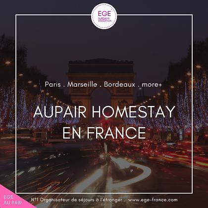 Au pair en France | Au pair in France | COMFORT