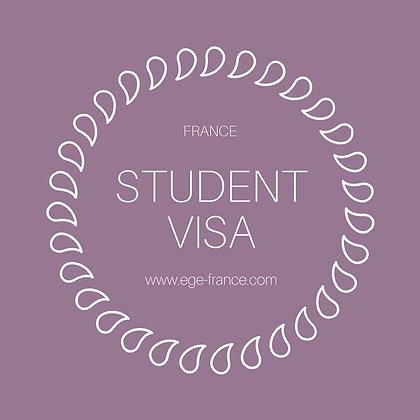 Visa du học Pháp | Dài hạn | SERVICE