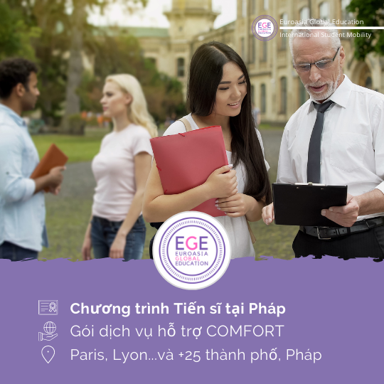 Du học Pháp Hệ Tiến Sĩ | COMFORT