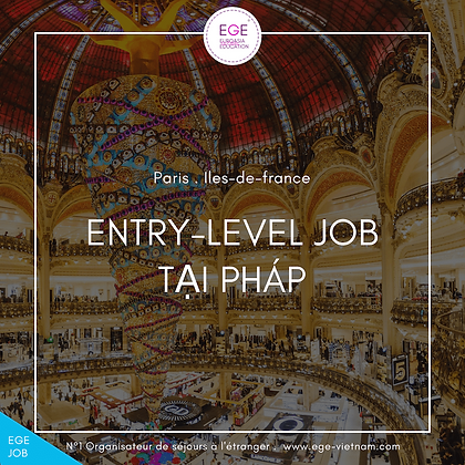 Việc làm tại Pháp | Student Job | STANDARD