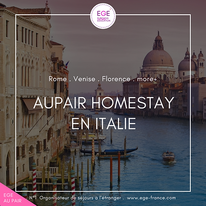 Au pair en Italie | Au pair in Italy | COMFORT