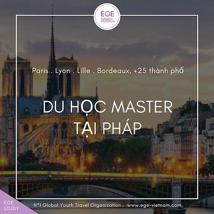 Du học Pháp | Hệ Thạc sĩ | STANDARD