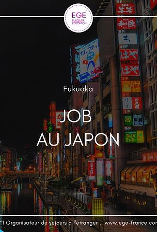 Job étudiant au Japon   English Teacher in Japan   STANDARD