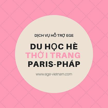 Du học hè tại Paris | Thời trang-Marketing | STANDARD