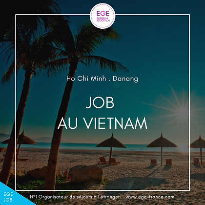 Job au Vietnam | Entry-level job in Vietnam | COMFORT