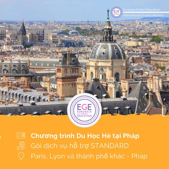 Du Học Hè tại Pháp + Visa | STANDARD