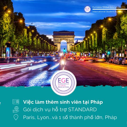 Việc làm thêm sinh viên tại Pháp | STANDARD