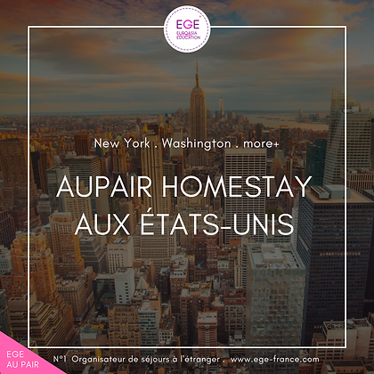 Au pair aux Etats Unis | Au pair in USA | STANDARD