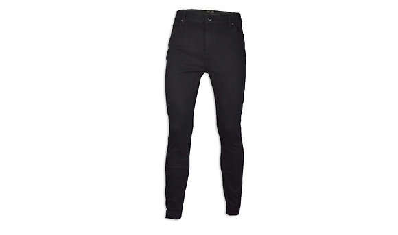 Black Skinny Cut Jeans - Athletic Fit