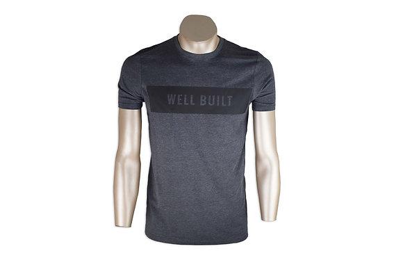 Grey & Black Single Block T-Shirt