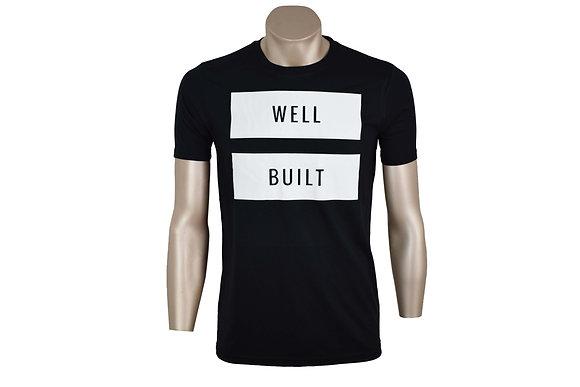 Black and White Vinyl T-Shirt