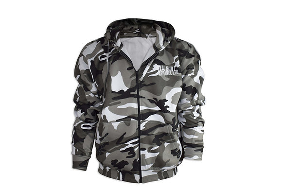 Zipped Camouflage Hoodies