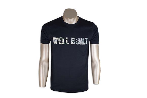 Black & Camo Single Block T-Shirt