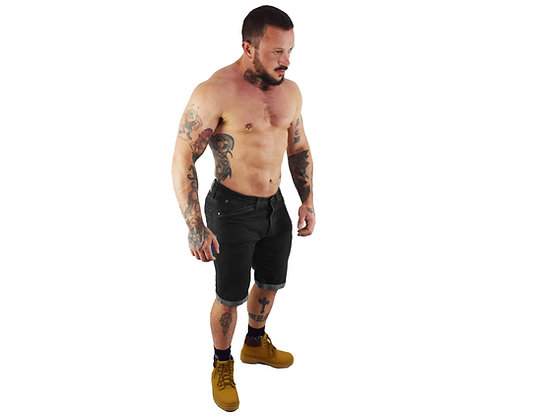 Black - Athletic Fit - Mens Shorts