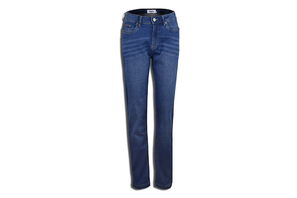 Dark Blue Women's Jeans - Straight Cut