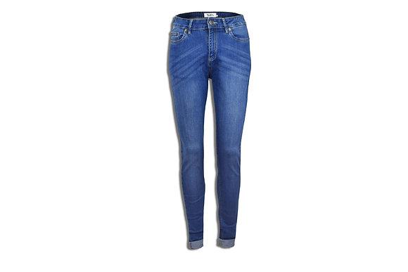 Medium Blue Women's Jeans - Skinny Cut