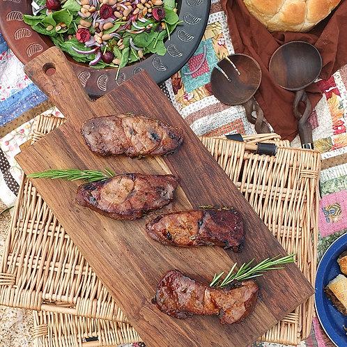 Grassfed Lamb Leg Steaks