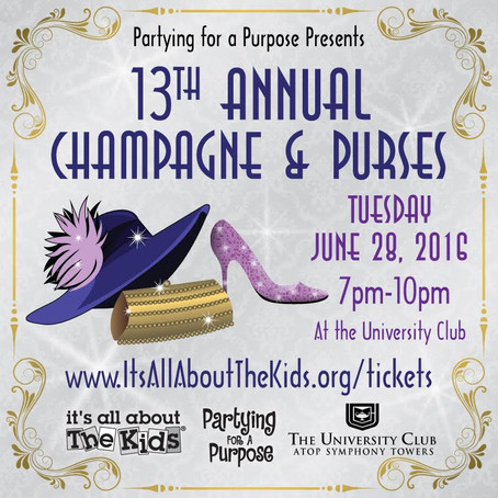 13TH ANNUAL CHAMPAGNE & PURSES