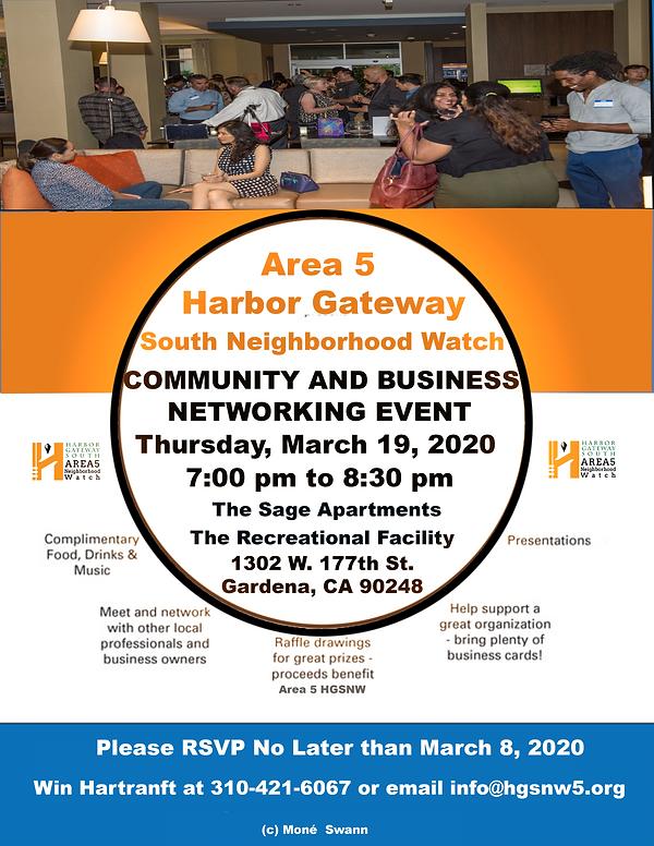 Area 5 Harbor Gateway South Business Net