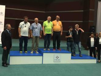 Campionati Assoluti a Coppie: medaglia d'argento per Fantoni-Ricci